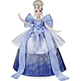 Disney Princess Style Series Holiday Style Cinderella, Christmas 2020 Fashion Collector Doll with Accessories, Toy for Girls