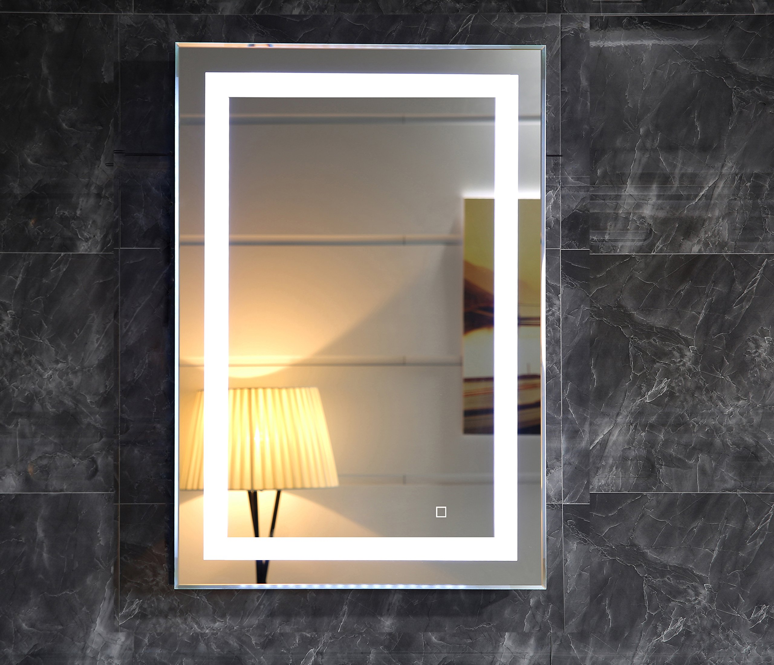 28X36 Inch LED Lighted Bathroom Mirror With Dimmable Touch Switch (GS099D-2836) (24X32 inch)