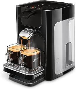 Philips Senseo Quadrante Koffiepadapparaat - Zet 2 kopjes koffie - Koffieboosttechnologie - Instelbare lekbak - Verwijderbaar waterreservoir - Automatische uitschakeling - Crema laagje - HD7865/60