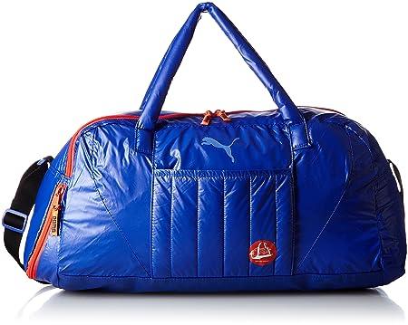 Puma Damen Tasche Fit at Sports Duffle, blau, 750 x 40 x 33