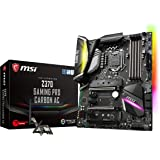 MSI Z370 GAMING PRO CARBON AC/A ATX ゲーミングマザーボード [Intel Z370チップセット搭載] MB4176