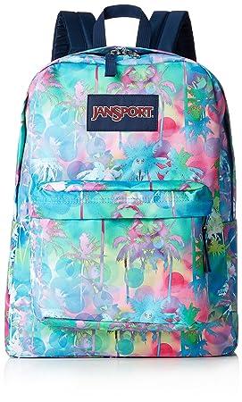 Amazon.com | JanSport Superbreak Backpack - Electric Palm - Classic, Ultralight | Casual Daypacks