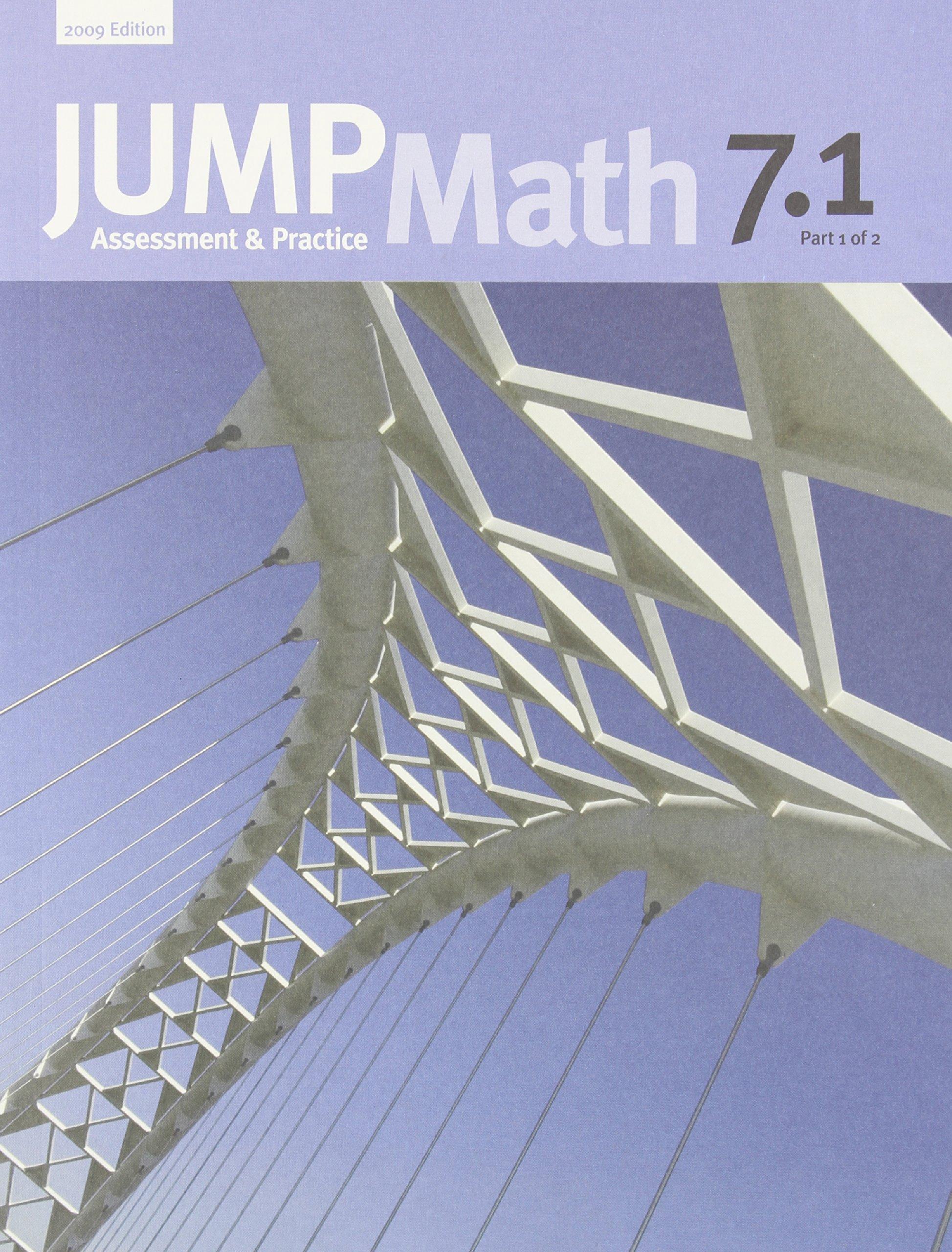JUMP Math 7.1: Book 7, Part 1 of 2: Amazon.ca: John Mighton, JUMP ...