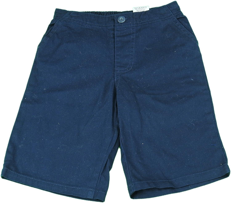 Kids Headquarters Boys School Uniform Elastic Band Four-Pocket Shorts Navy