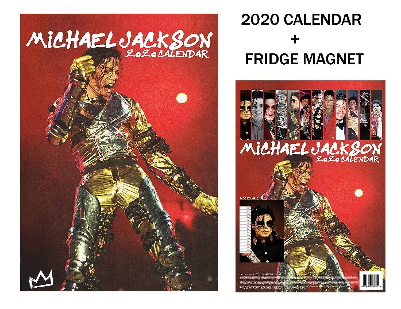 Michael Jackson Calendario 2020 + máquina de metal imán para ...