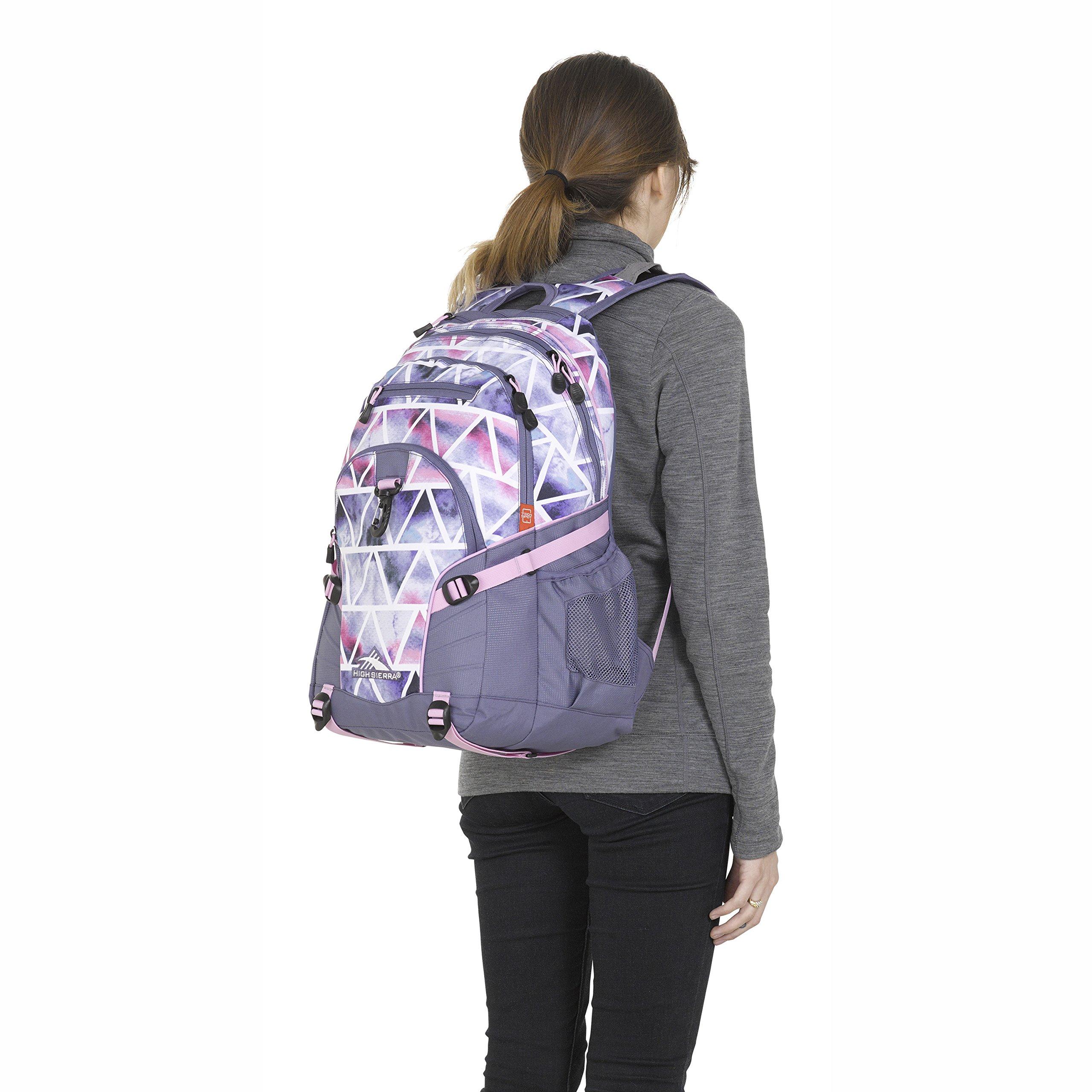 High Sierra Loop Backpack Dreamscape/Purple Smoke by High Sierra (Image #5)