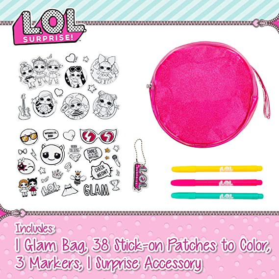 Lol Surprise Glam Bag Cute Little Girls Purse With 38