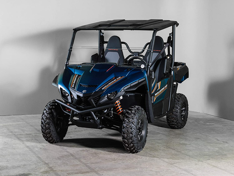 Made in the USA!. Yamaha Wolverine X2 Full UTV Windsheild 3//16-2 /& 4 Seater