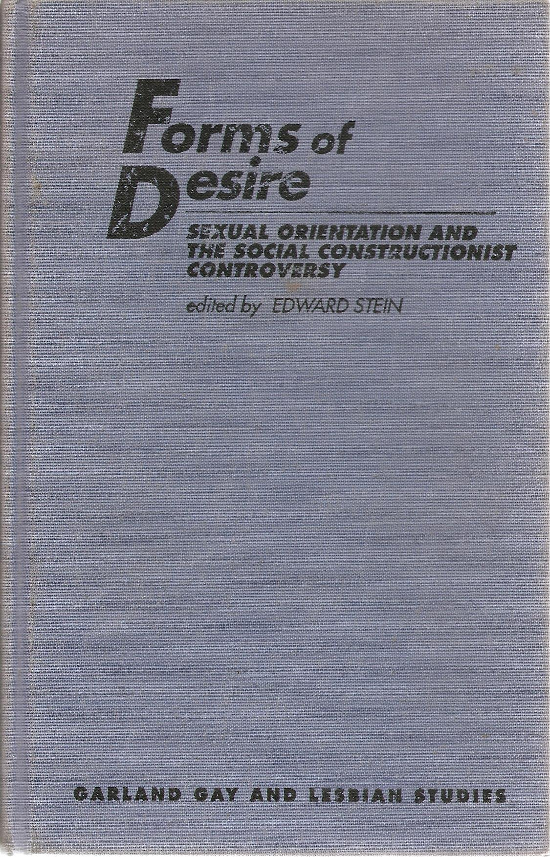 Forms Of Desire:Sexual Orient (Garland Gay and Lesbian Studies; 1; Garland Reference Librar) by Brand: Garland Science