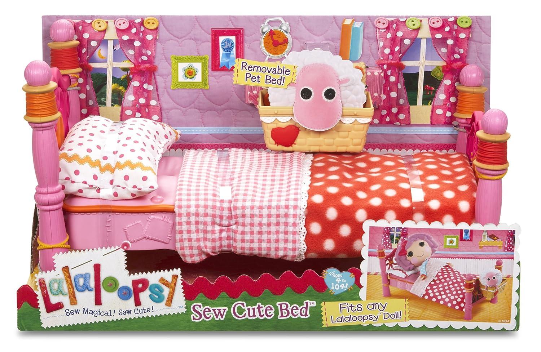 Lalaloopsy Bedroom Furniture Amazoncom Mga Lalaloopsy Sew Cute Bed Toys Games