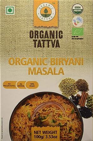 Organic Tattva Biryani Masala, 100g