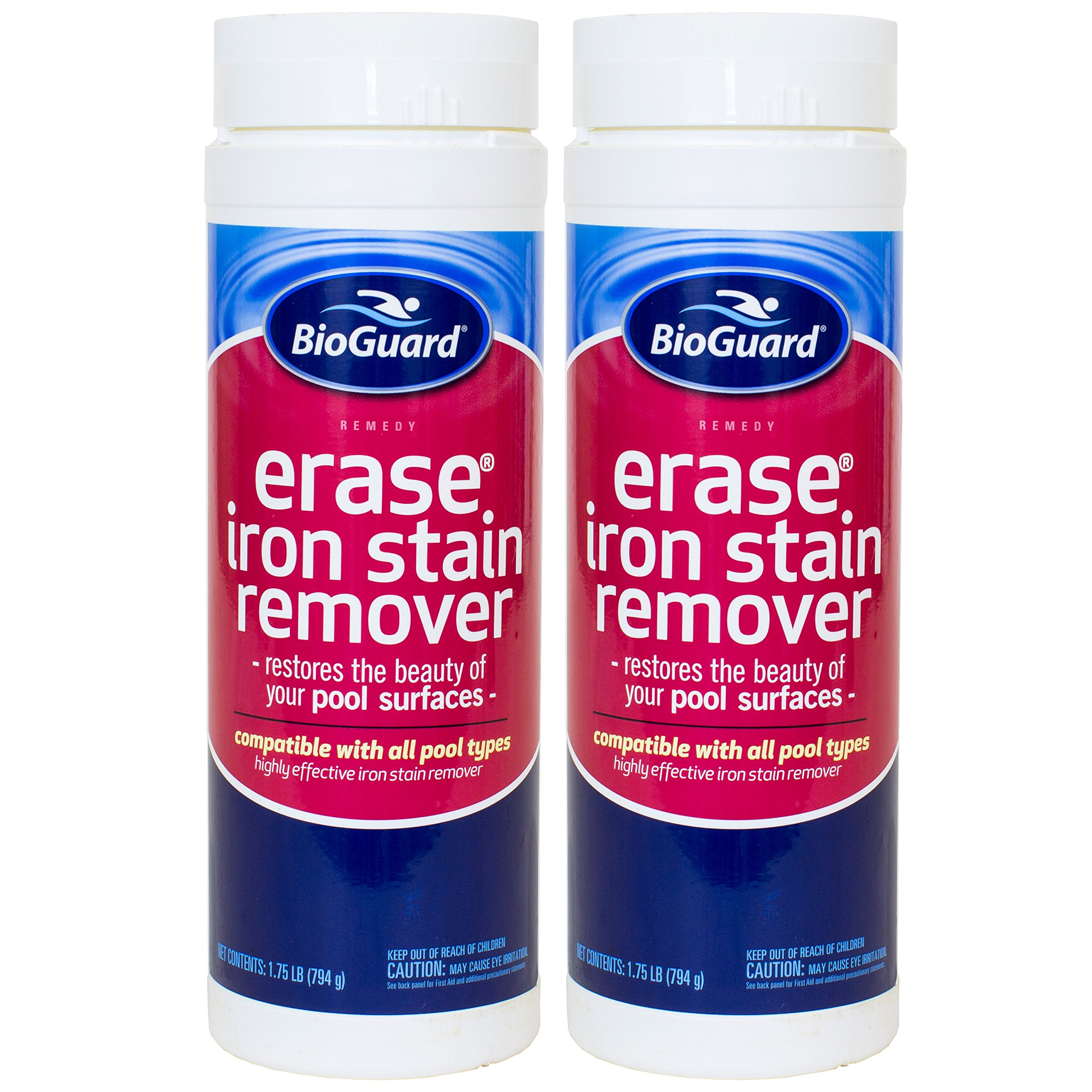 BioGuard Erase Iron Stain Remover (1.75 lb) (2 Pack)