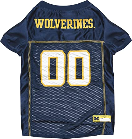 Football Jerseys for Dogs /& Cats Available in 50 Basketball Jerseys Collegiate Teams /& 7 Sizes Pets First NCAA PET Apparels