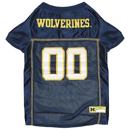 911f9f45d Amazon.com  NCAA MICHIGAN WOLVERINES DOG Jersey