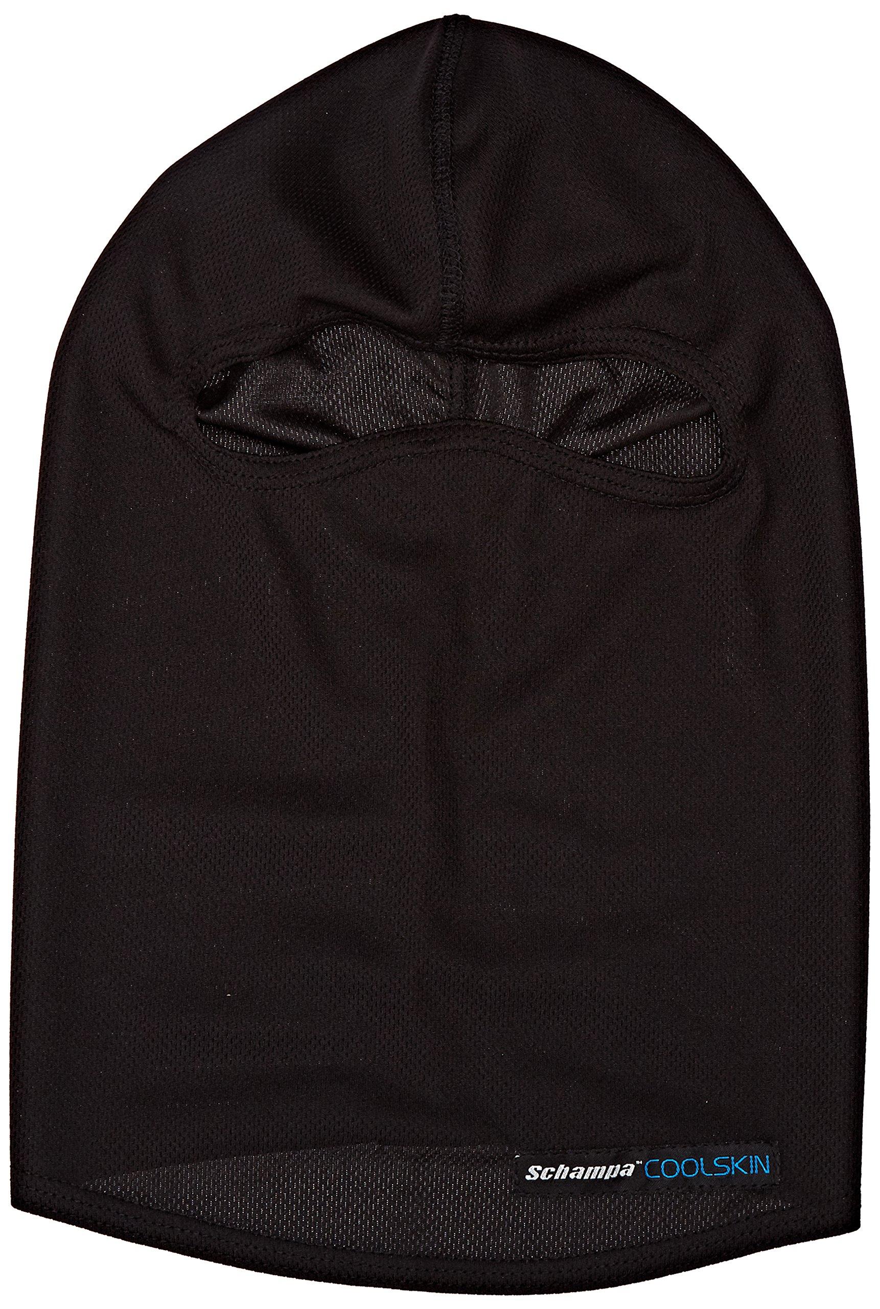 Schampa CoolSkin Balaclava (Black, One Size) by Schampa