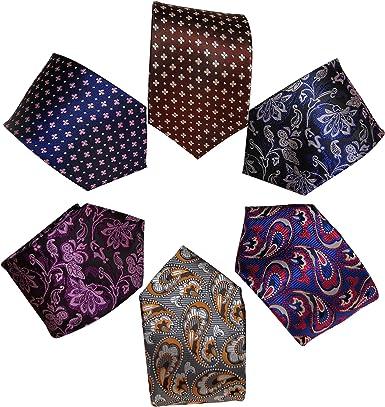 Vellede Corbata de hombre, 6 estilos, regalo para novio, la mejor ...