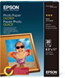 Epson Papel Fotográfico Glossy (20 Hojas) , S041141