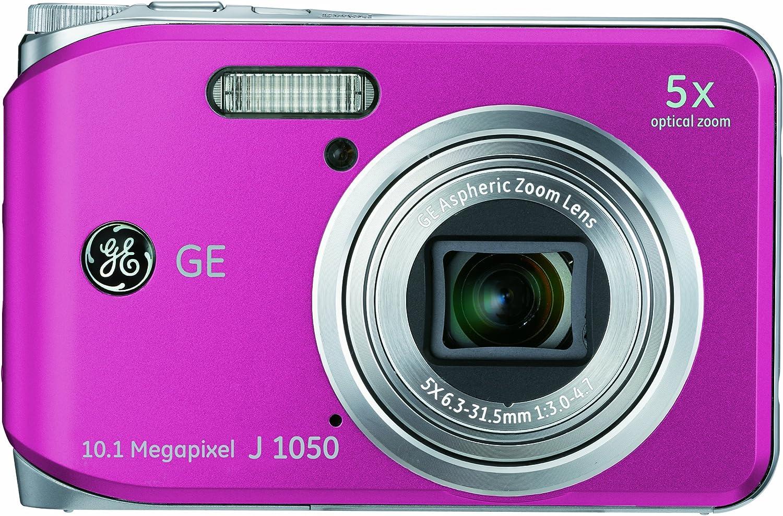 Ge General Electric J1050 Digitalkamera 2 7 Zoll Pink Kamera