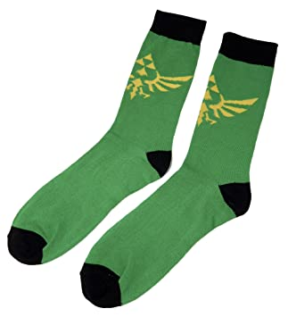The Legend of Zelda: Skyward Sword Hylian Crest Crew Calcetines: Amazon.es: Juguetes y juegos