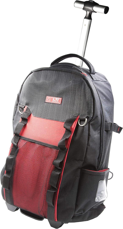 KRINO LTI by 65991015 – Mochila trolley con organizador para profesionales, resistente, manejable y práctico. Bolsillos 57 con puerto PC / Tablet, capacidad 30 litros, carga 20 kg