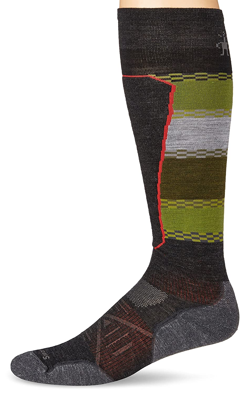 Smartwool PhD Ski Light Elite Pattern Mens Sock 2018 SW-15034-$P