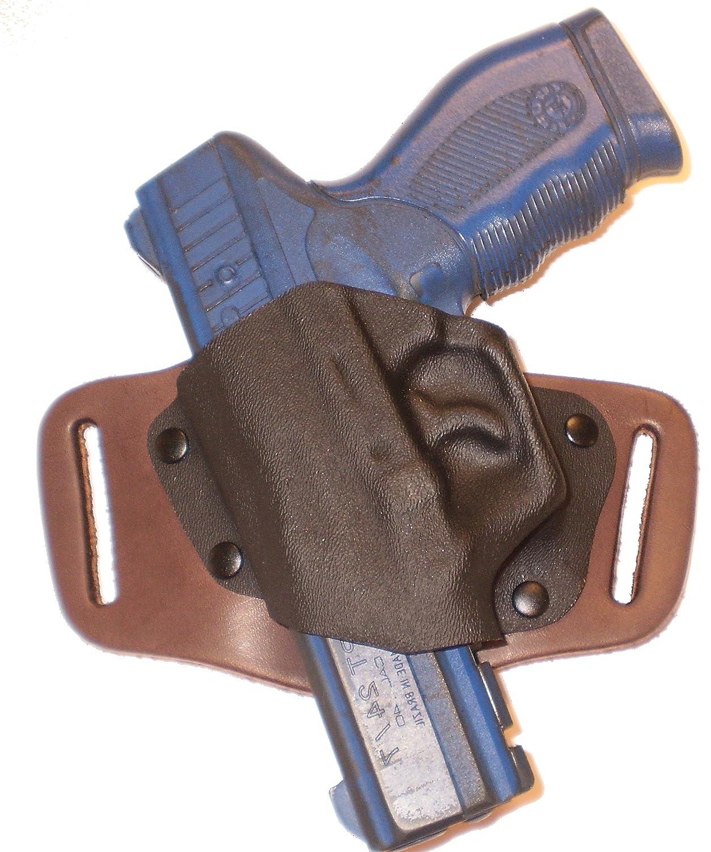 Amazon com : Ruger P89 OWB Left Hand Brown Gun Holster Quick