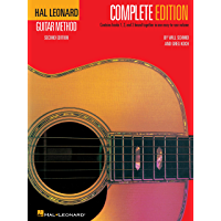 Hal Leonard Guitar Method, - Complete Edition: Books 1, 2 and 3 book cover