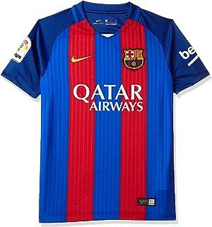 Nike 1ª Equipación FC Barcelona 2016 2017 - Camiseta Oficial  Amazon ... 83c705f21f11d