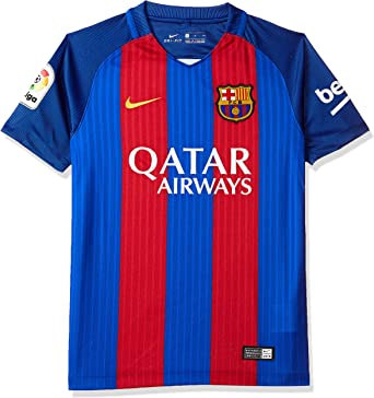 Nike FC Barcelona Yth Ss Hm Stadium Jsy, Camiseta de manga corta para niño: Amazon.es: Ropa y accesorios