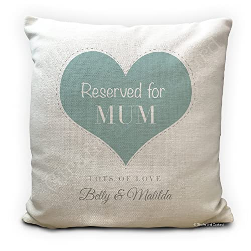 Personalised Mothers Day Cushion Cover Gift - Home Decor - Reserved ...