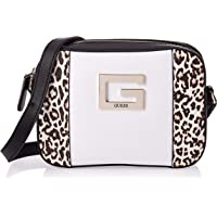 Guess Womens Cross-Body Handbag, Leopard Multi - LD669112