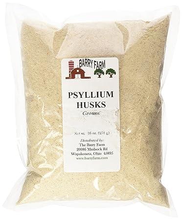 Amazoncom Psyllium Husks Ground 1 Lb Psyllium Nutritional