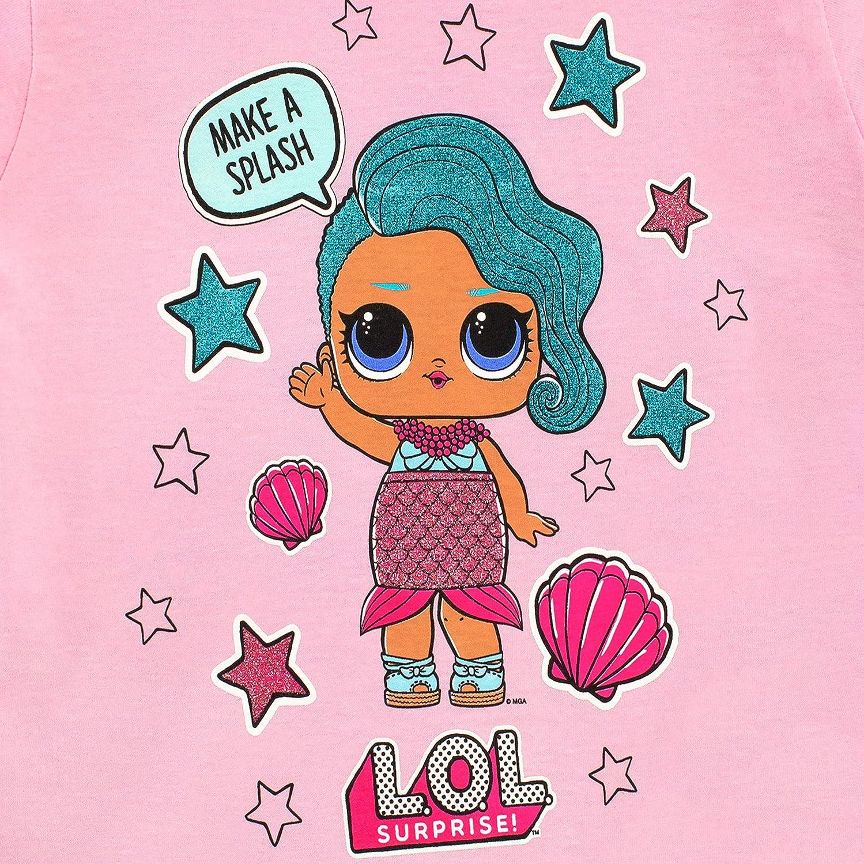 LOL Surprise Maglietta Maniche Corta per Ragazze Bambole
