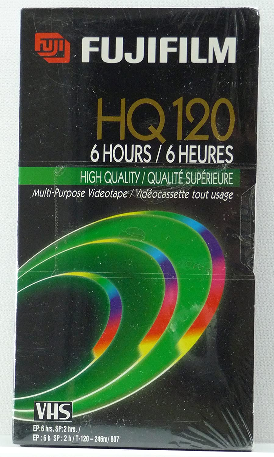 FujiFilm HQ120 VHS Tape (3-Pack) Fuji Photo Film U.S.A. Inc. LYSB010IAVZTQ-CMPTRACCS