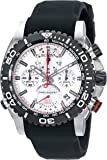 Bulova Men's 98B210 Stainless Steel Watch with Black Band