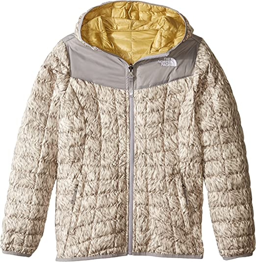 Amazoncom The North Face Kids Womens Reversible Thermoball Hoodie