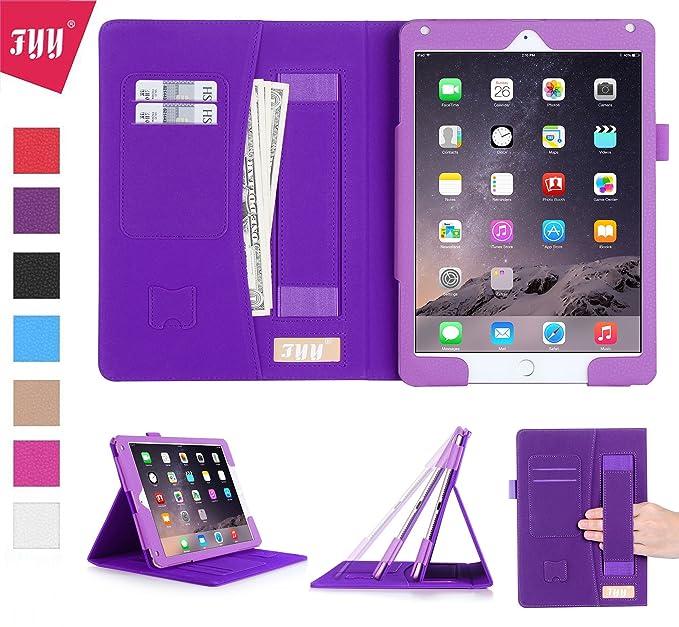 120 opinioni per FYY Cover iPad Air 2,Custodia iPad 6,iPad 6 Cover,Adatto a Quattro Modelli, PU