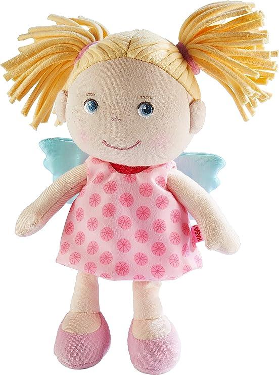 HABA Hängefigur Schutzengelchen Figur Kuschelfigur Spielfigur Spielzeug Rosa