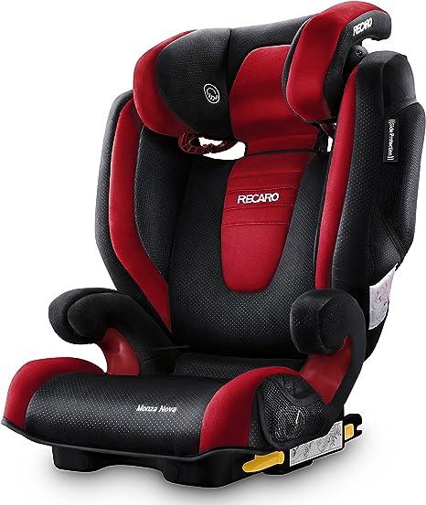 Recaro Monza Nova 2 Seatfix, Silla de coche grupo 2/3, rojo (Ruby): Amazon.es: Bebé