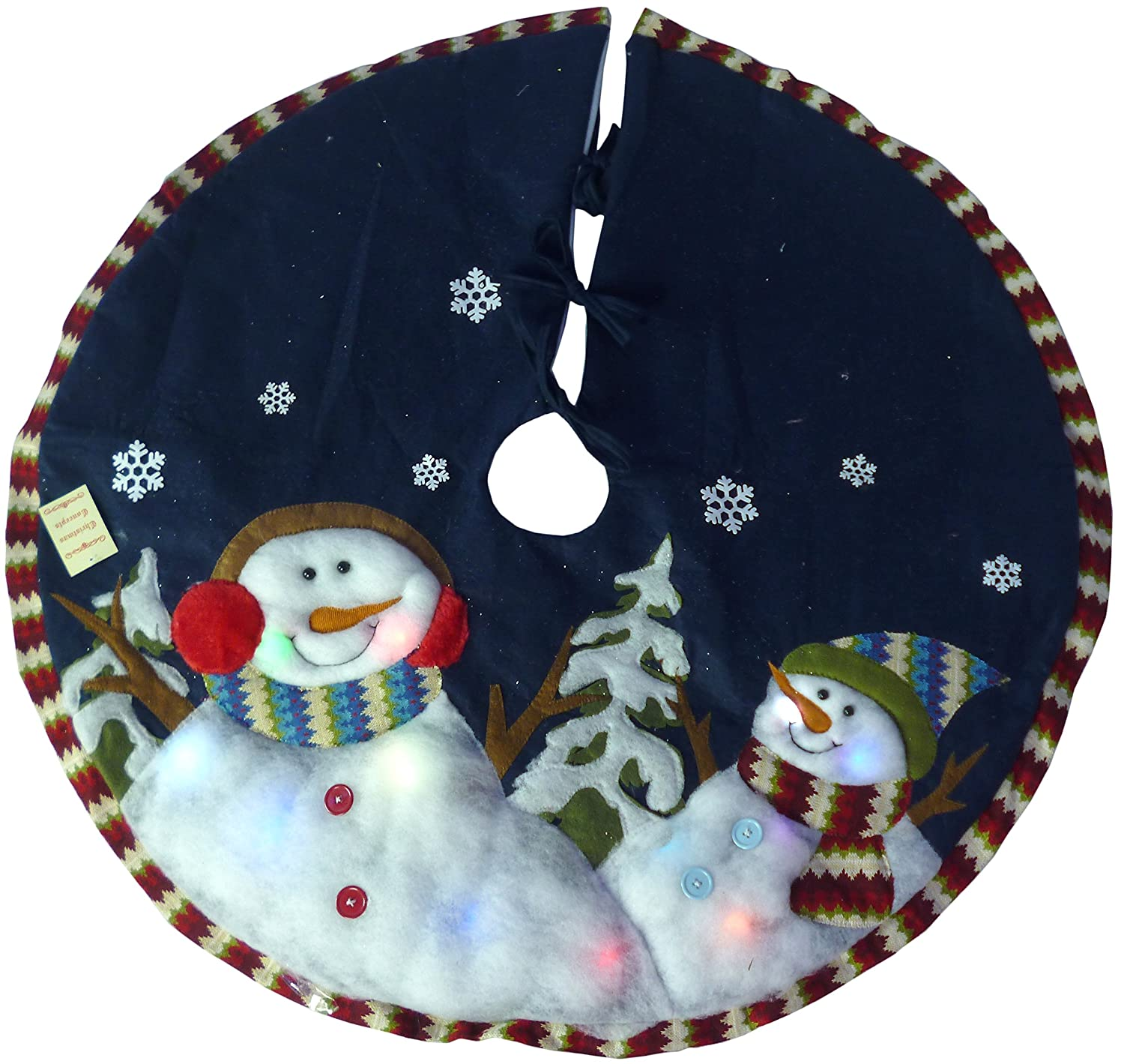 Snowman Christmas Tree Skirts