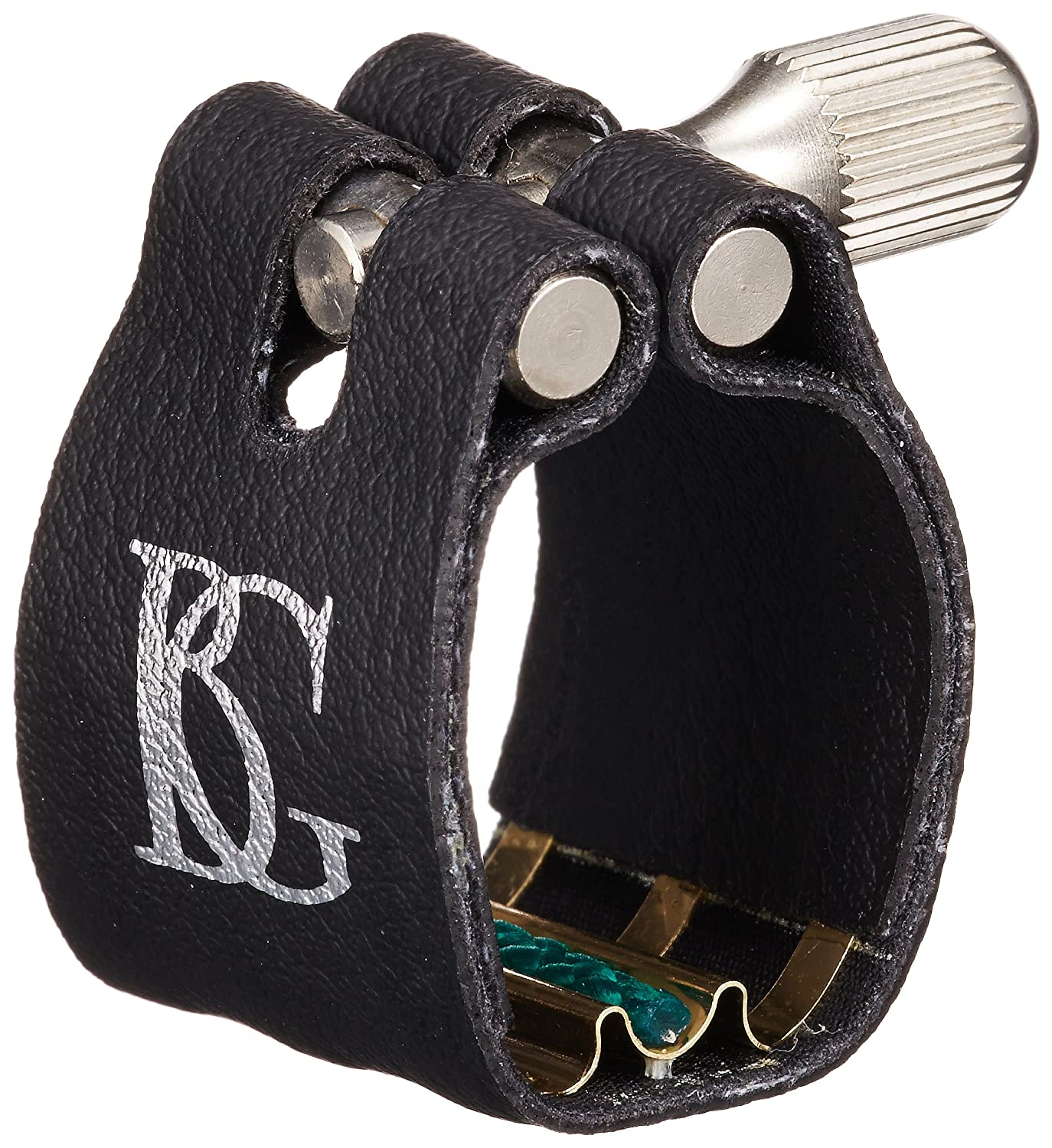 BG L4 SR Ligature with Cap, Bb Clarinet, Super Rev, Gold