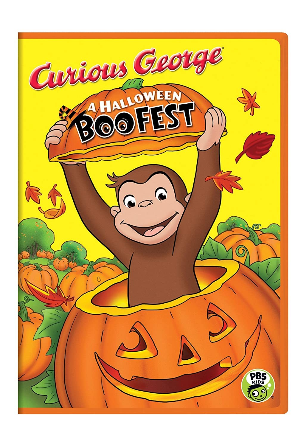 Amazon.com: Curious George: A Halloween Boo Fest: Frank Welker ...