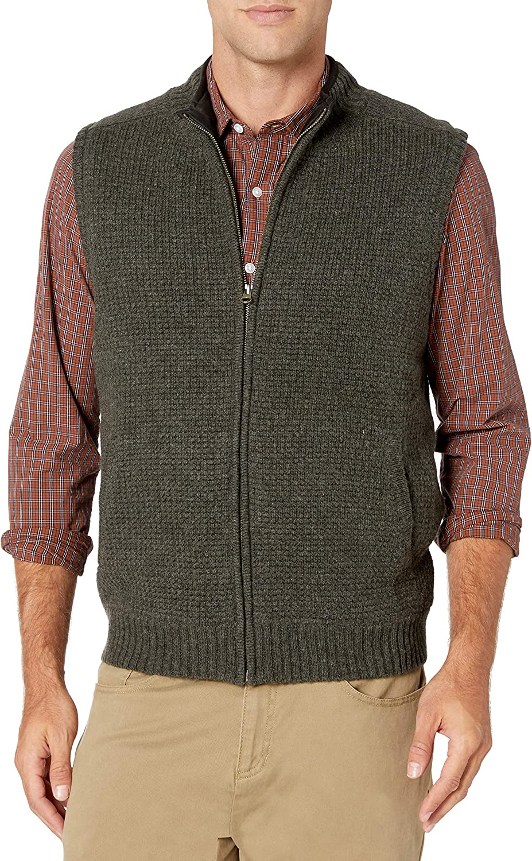 Pendleton Mens Shetland Zip Vest
