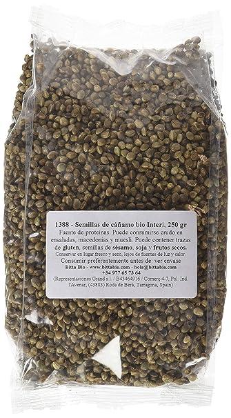 Fior di Loto Semillas de Cáñamo Enteras - 250 gr: Amazon.es: Alimentación y bebidas