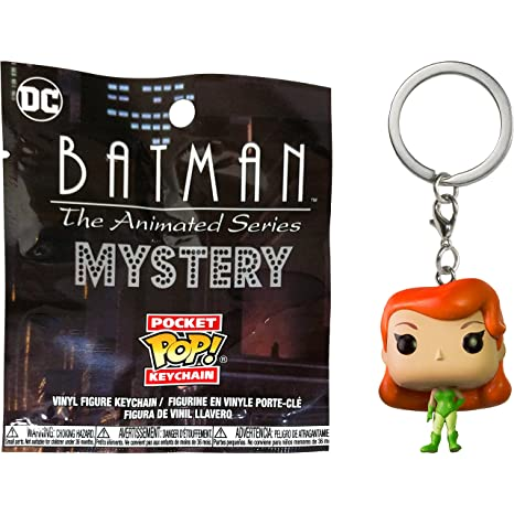 Poison Ivy: Funko Mystery Pocket POP! x Batman The Animated Series Mini-Figural Keychain (21131)