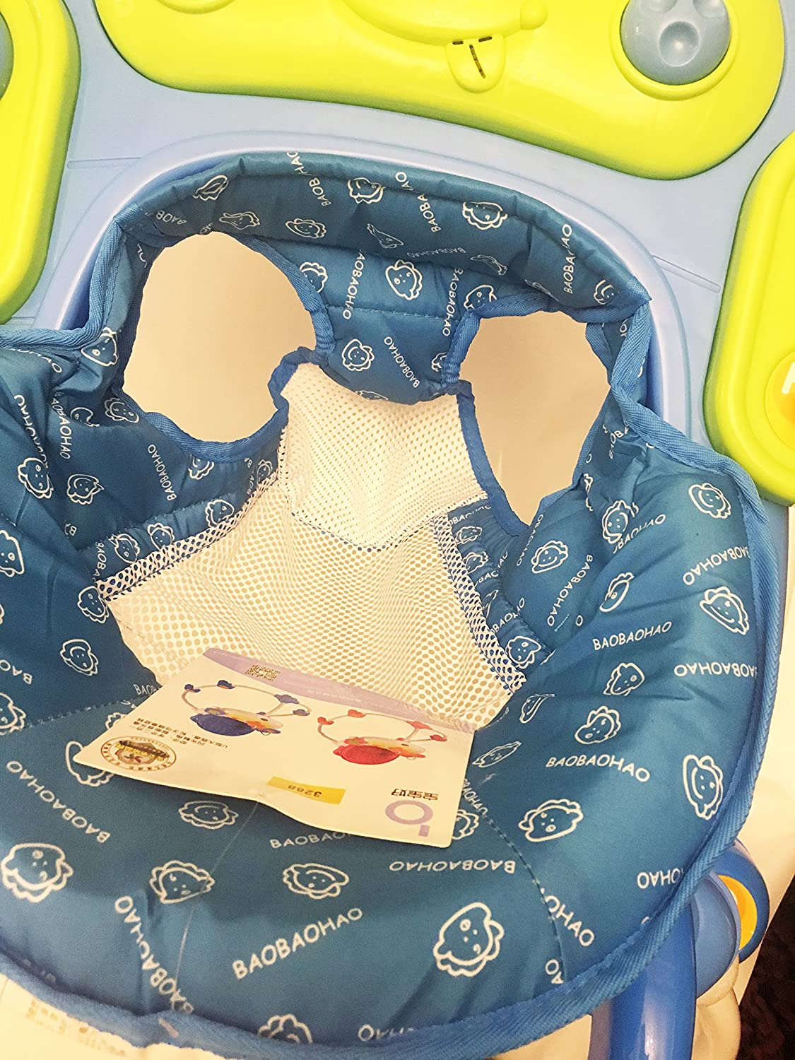 Baby Walker First Steps Activity Bouncer Musical Toy Push Along Ride On Child Woodfield