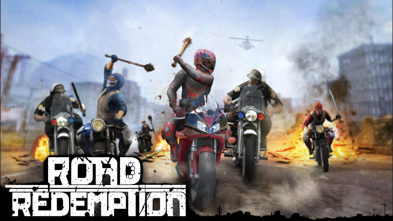 Road Redemption [Online Game Code] by Pixel Dash Studios & EQ Games