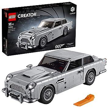 LEGO- Creator Expert-James Bond Aston Martin DB5, maqueta Detallada de Coche de Lujo de Juguete de 007 (10262)