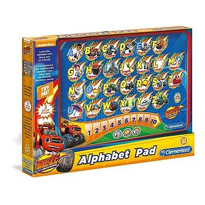 Clementoni Blaze & The Monster Machines Alphabet Pad: Toys & Games