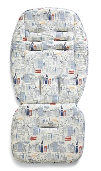 Pink Tropical Pelican Design Mamas /& Papas Universal Pushchair Padded Liner With Memory Foam